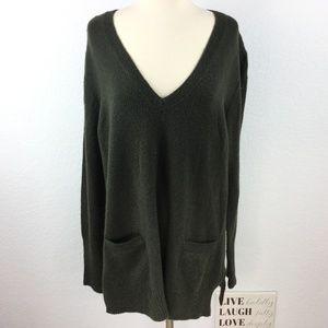 J. Crew Sweater Women Size Large Green
